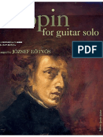 Chopin Fr 233 d 233 Ric Chopin for Guitar