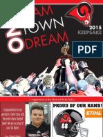 Football Keepsake 2015