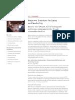 Polycom Solutions for Sales Marketing Br Enus