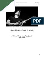 John Mayer - Guitar Player Analysis (w/Song Examples)