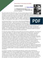 Gianni Rodari - La imaginación en la literatura infantil