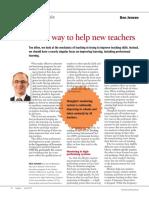 jensen b  a new way to help new teachers