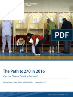 The Path to 270 in 2016