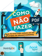 Brazil Hook 10 Erros de Inbound Marketing