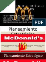 Mcdonalds Planeamiento