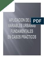 Variables Urbanas Fundamentales. Parte 1