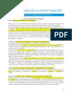 Metodología de La Investigación-tema 4-Planteamiento Del Problema de Investigación