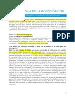 Metodología de La Investigación-tema 3-La Idea. El Nacimiento de Un Proyecto de Investigación