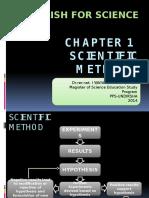 Chapter 1-Scientific Methods