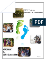 Ntpc Policy Csr Sustainability