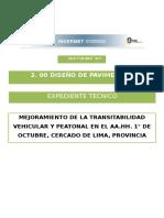 diseño de pavimento 1° OCTUBRE - final flexible