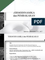 1Thermodinamika II (Siklus Refrijerasi I)