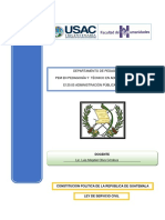 material ley de servicio civil guatemala