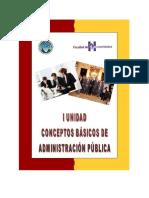 conceptos basicos de la administracion publica