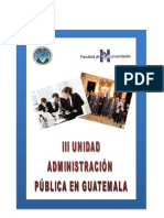 administracion publica en guatemala