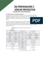 Etapas de Preparación y Evaluación de Proyectos