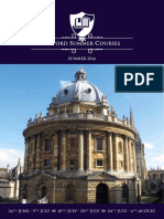 Oxford Summer Courses Web Brochure 2016