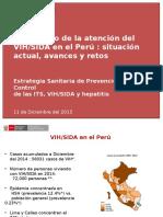 Cascada VIH Peru