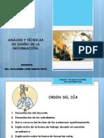 Analisis y Tecnicas de Diseño de La Informacion.