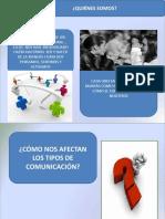 Diapositiva-TIPOS DE COMUNICACION Y TIPOS DE MASCARAS