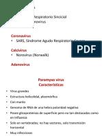 Paramyxo, Corona y Calcivirus y Adeno
