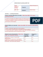 pbl audit tool - completed sample