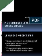 Musculoskeletal Emergencies Edit