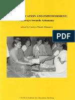 Žene, Obrazovanje i Osnaživankkke