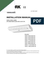 Inst Manual CeilingFloor