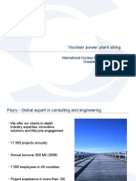 Pohjonen - Nuclear Power Plant siting.ppt
