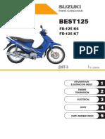 Fd125k7(Best) manual de partes moto best 125