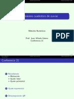 Conf 21 Ajuste No Lineal QR 1s 2015 (2)