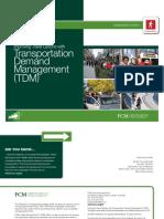 Transportation Demand Management e