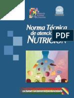 Norma Tecnica de Atencion en Nutricion