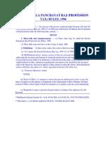 Prefessional Tax