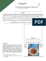 Análisis gravimétrico de hierro como Fe2O3 en grajeas de Sulfato Ferroso