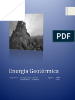Informe Energia Geotermica