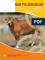 Pedoman Pelaksanaan Uji Performan Sapi Potong 2015
