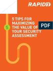 5 Tips for Security Assessment