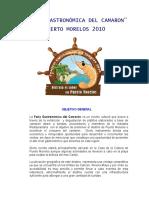 Fería Gastronómica del Camarón Casa de la Cultura Puerto Morelos