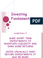 Chapter 6 Investing Fundamentals