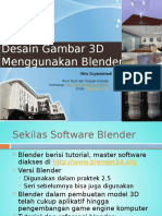5 Pendahuluan Blender Visual Model 3D
