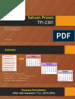 Satuan Proses 1 (26 Oktober 2015) OK