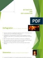 Detonation & Deflagration