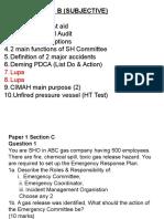 Exam NIOSH Paper 1