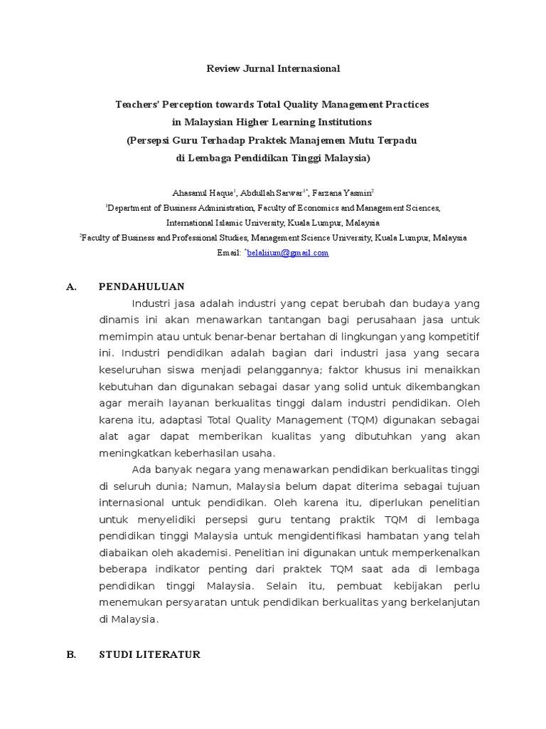 Jurnal Internasional Manajemen Keuangan Pdf - Ekma5313 ...
