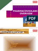 Pharmacovigilance -ACRI-Overview