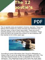 offical 12 apostle rocks