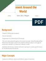 movement around the world  powerpoint