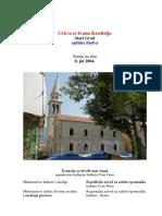 Budva-Sv Ivana Krstitelja-Stari Grad